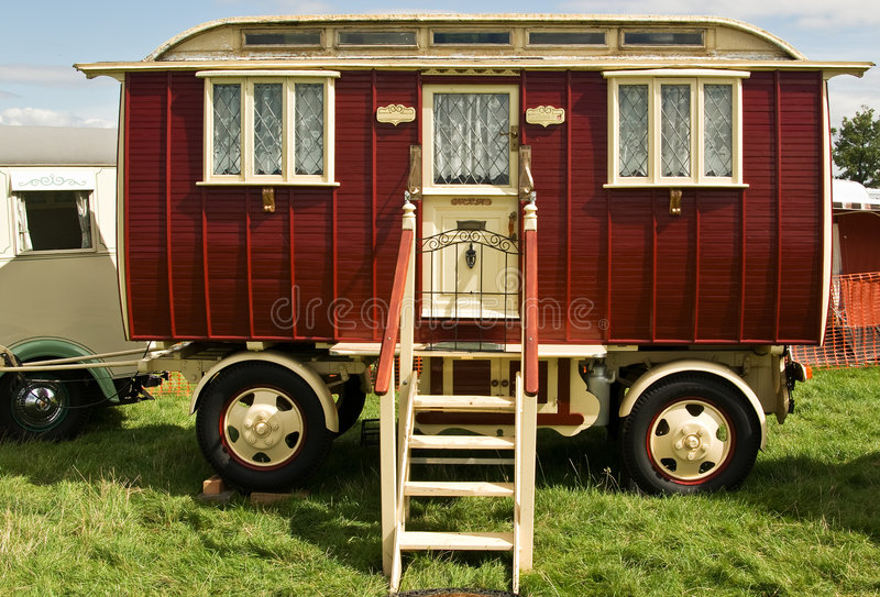 Klassischer Wohnwagen lizenzfreie stockfotografie