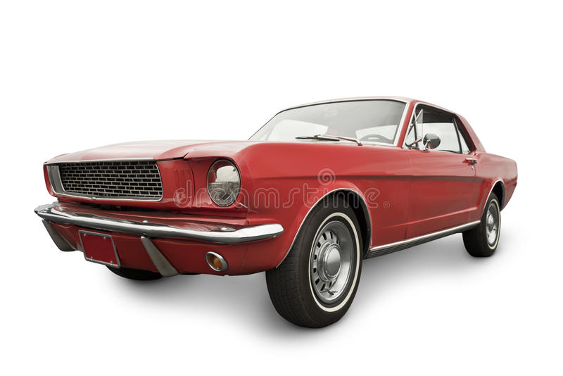 Klassisches amerikanisches Auto lizenzfreie stockbilder