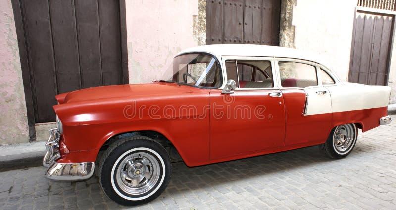 Klassisches amerikanisches Auto in Havana lizenzfreie stockfotografie
