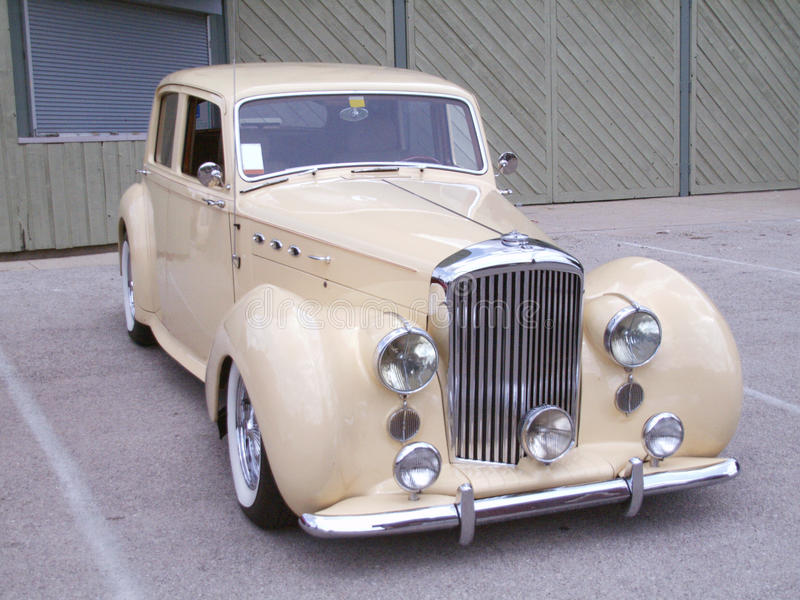 Klassisches Automobil stockfotografie