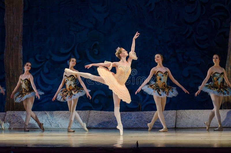 Klassisches Ballett Schneewittchen lizenzfreies stockbild