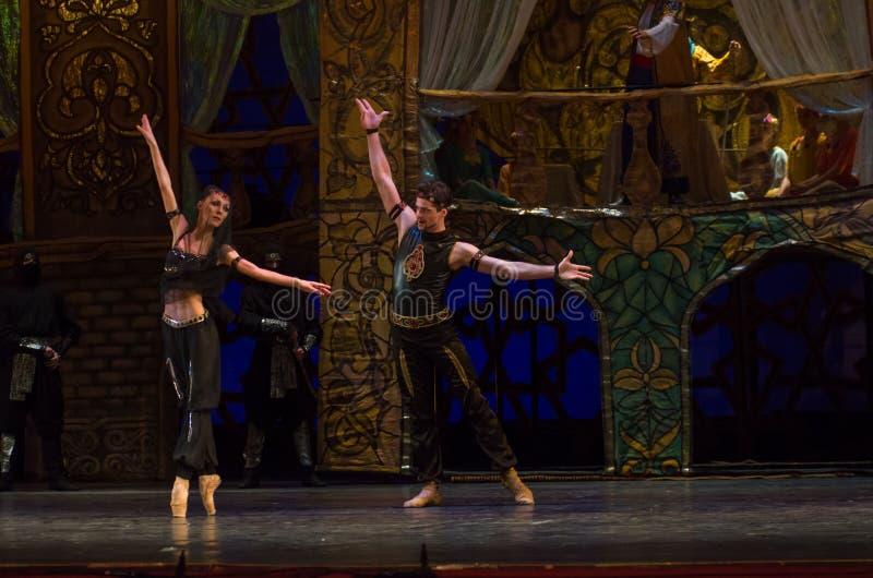 Klassisches Ballett Seeräuber stockbilder