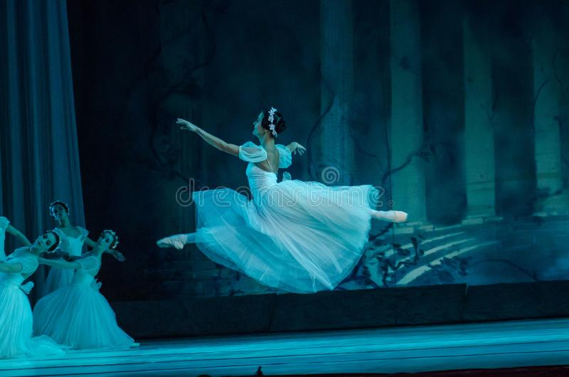 Klassisches Ballett Sylphs lizenzfreie stockfotos