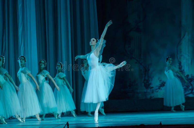 Klassisches Ballett Sylphs stockfoto