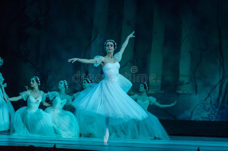 Klassisches Ballett Sylphs stockfotos