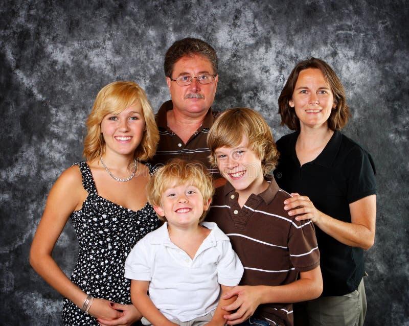 Klassisches Familien-Portrait Stockbild