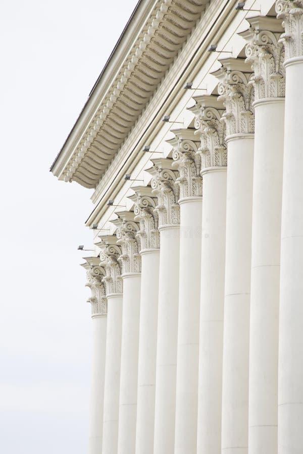 Klassisches fasade lizenzfreie stockfotos