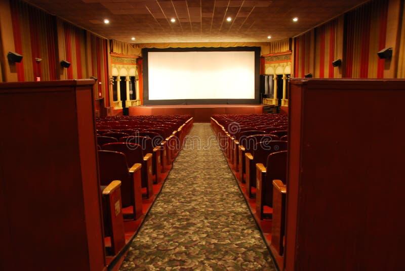 Klassisches Filmtheater stockbild