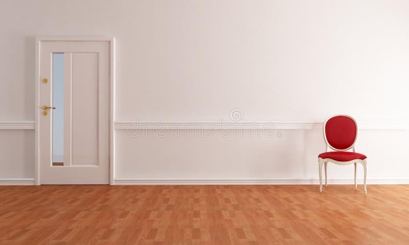 Klassisches Foyer stock abbildung
