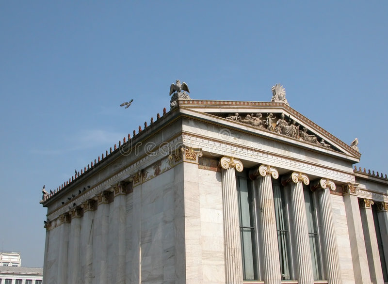 Klassisches Gebäude stockfotos
