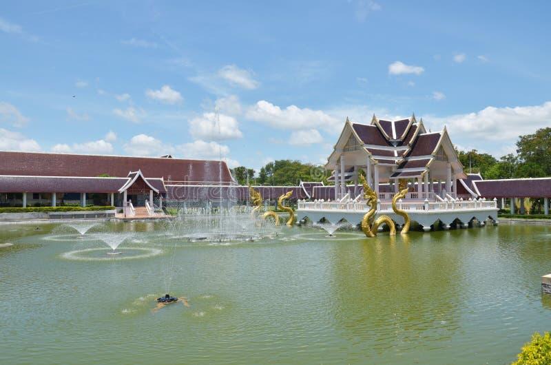 Klassisches Gebäude Thailändische Art Stockfotografie