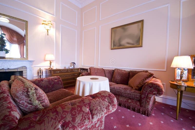 Klassisches Hotelzimmer lizenzfreies stockfoto