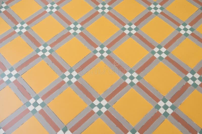 Klassisches keramisches Muster stockbild