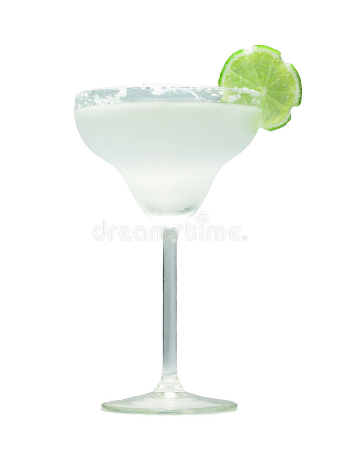Klassisches Margaritacocktail stockfotos