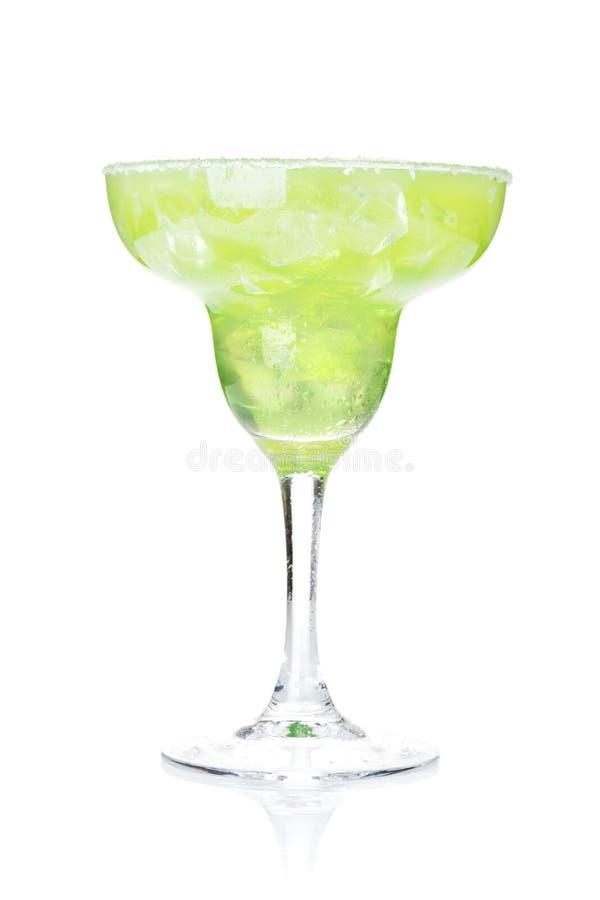 Klassisches Margaritacocktail mit salziger Kante stockfotografie