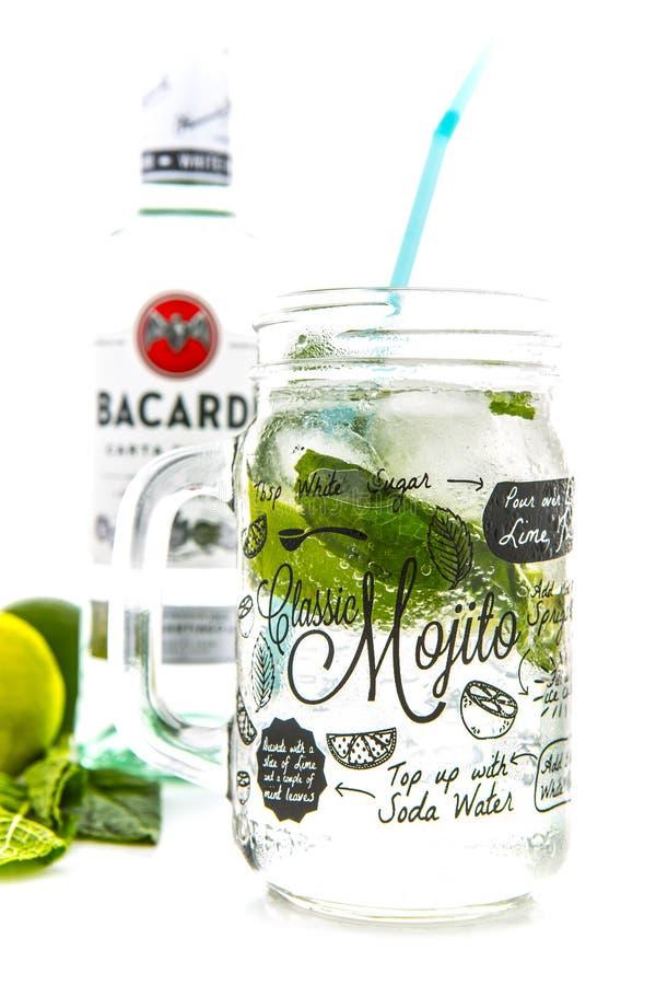 Klassisches Mojito Cocktail lizenzfreie stockfotografie