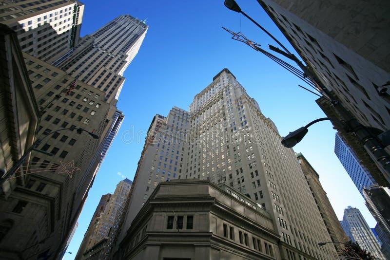Klassisches New York - Wall Street lizenzfreie stockbilder