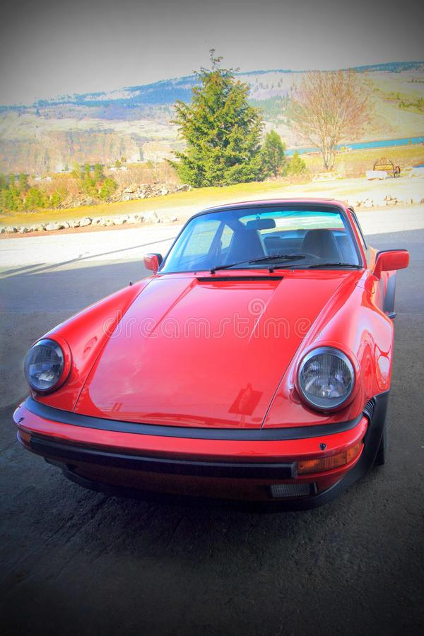 Klassisches Nizza Porsche lizenzfreies stockbild