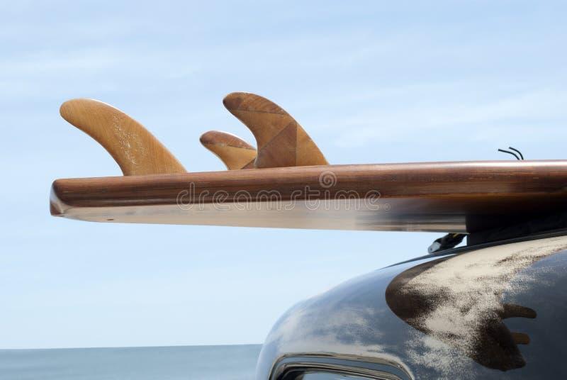 Klassisches Surfbrett lizenzfreies stockfoto