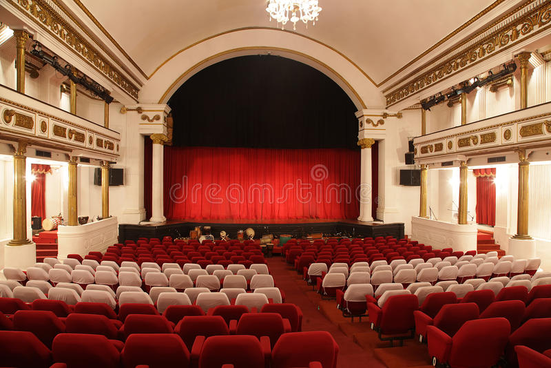 Klassisches Theater lizenzfreies stockbild