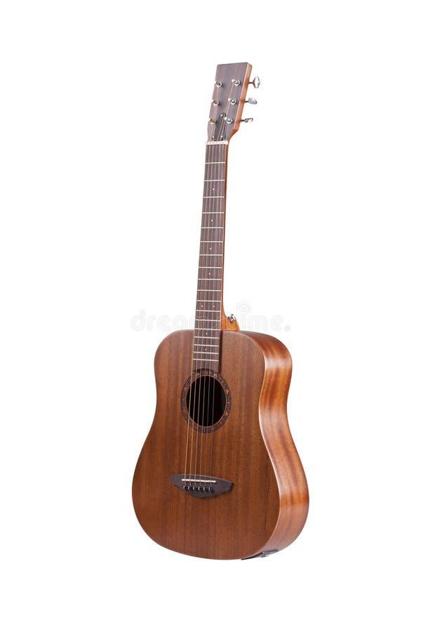 Klassisk akustisk gitarr royaltyfri bild