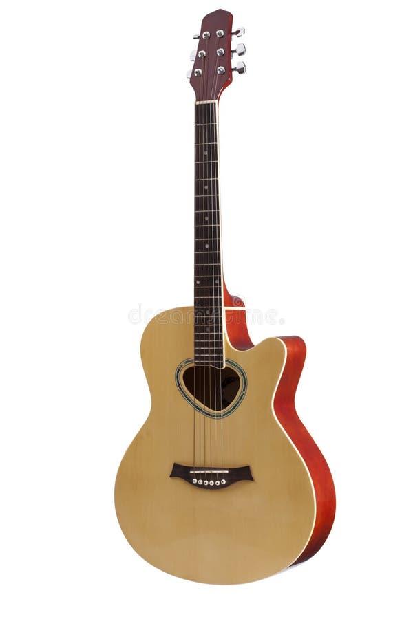 Klassisk akustisk gitarr royaltyfri foto