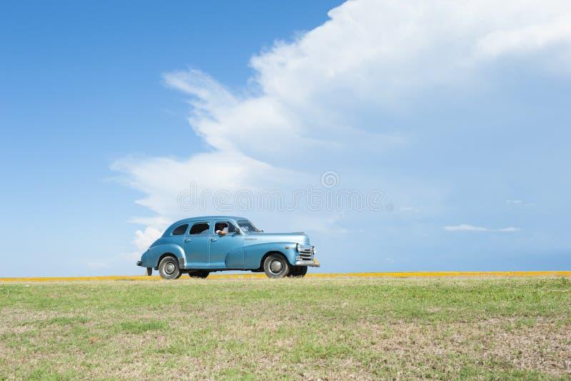 Klassisk amerikanareVaradero Kuba arkivbilder