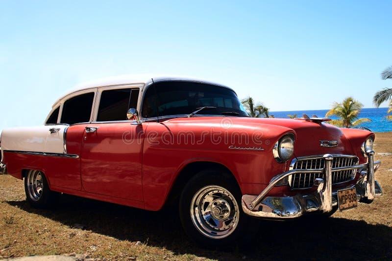 Klassisk bil i Havana arkivfoto