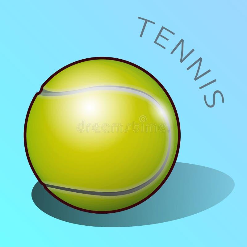 Klassisk boll för tennislek arkivbilder