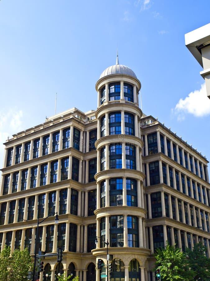 Klassisk byggnad i Washington DC arkivbilder