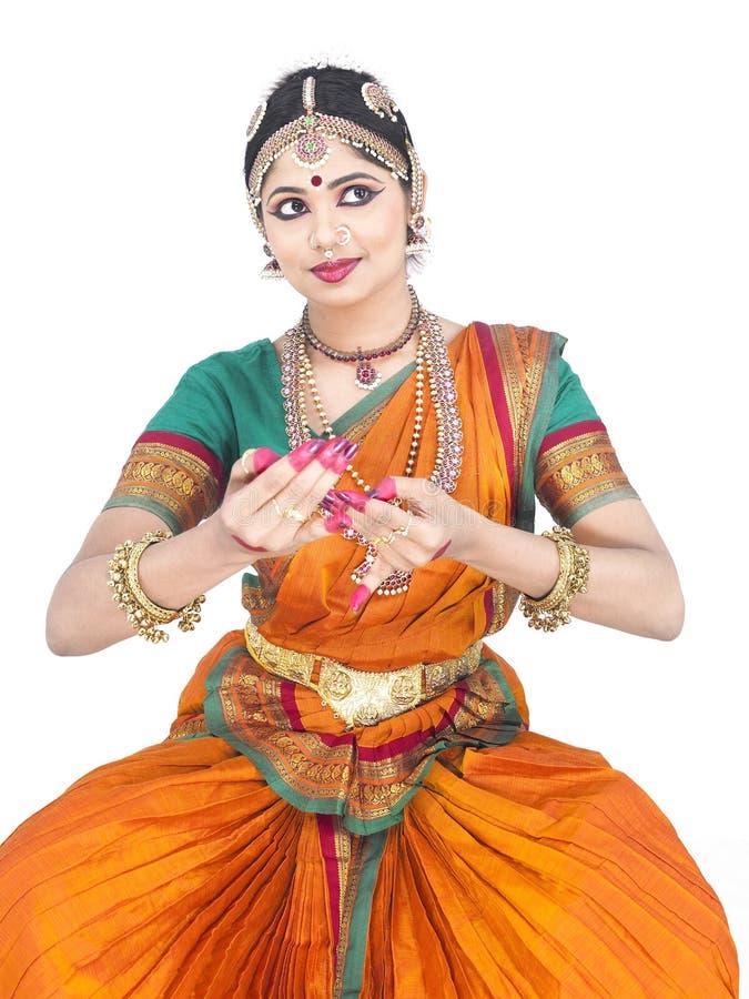 klassisk dansare india royaltyfria bilder
