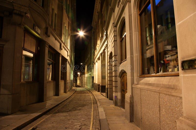 klassisk förebildlinje london gata royaltyfri bild