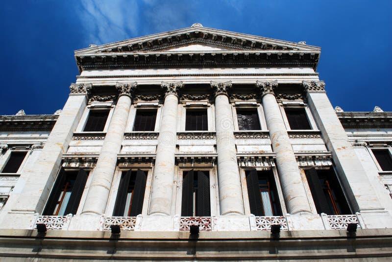 klassisk facade royaltyfria foton