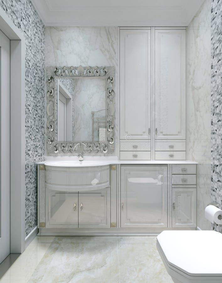 Klassisk inre toalett royaltyfri foto