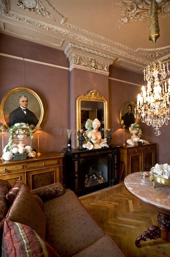klassisk interior arkivfoton