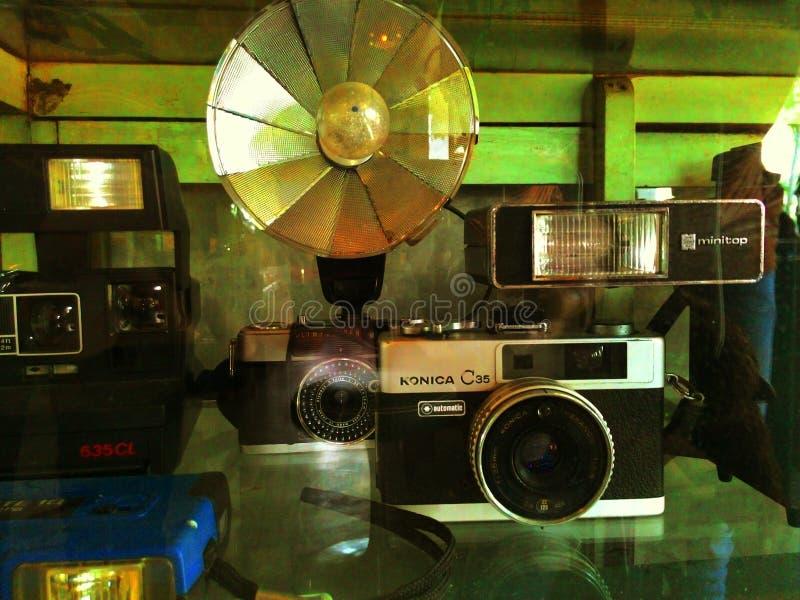 Klassisk kamera fotografering för bildbyråer