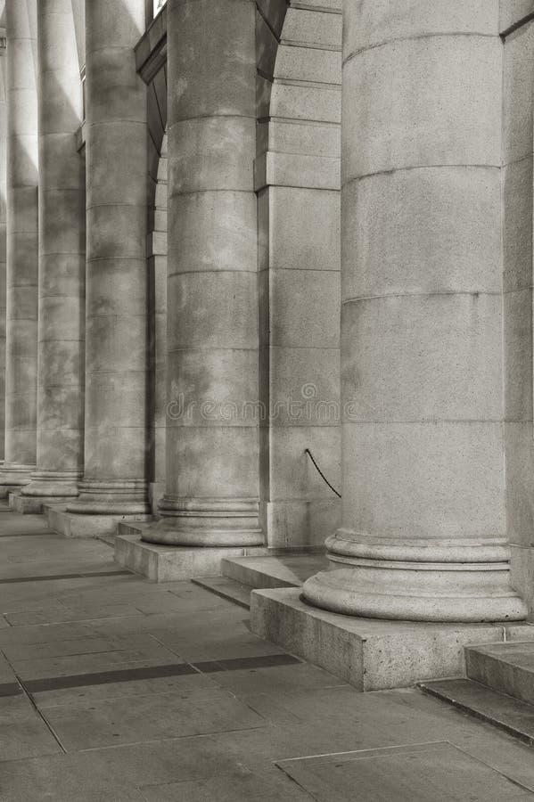 klassisk kolonn royaltyfri fotografi