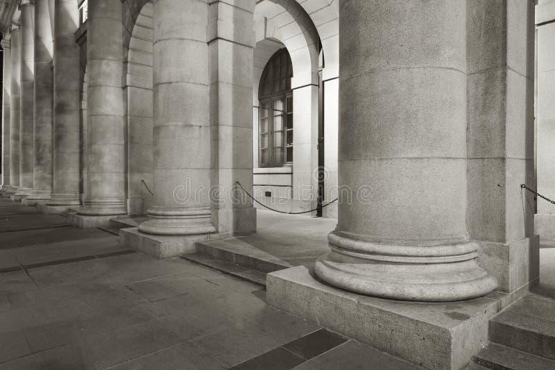 klassisk kolonn arkivfoto