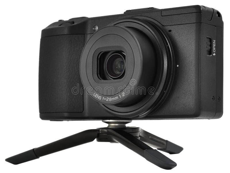 Klassisk kompakt kamera royaltyfria foton