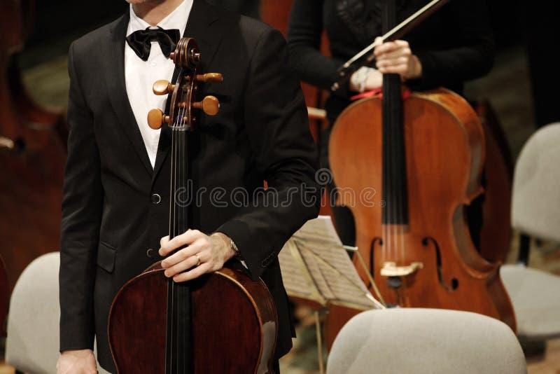 klassisk konsertmusik royaltyfri bild