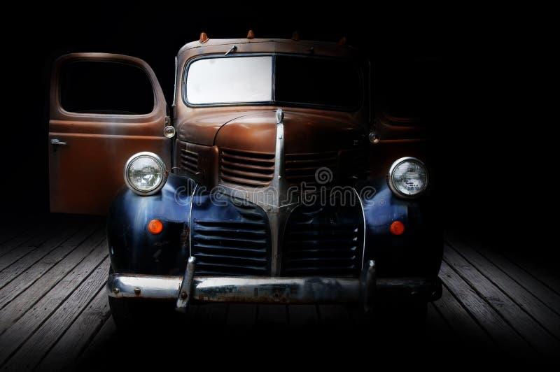 klassisk lastbil