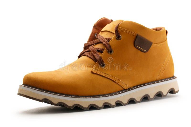Klassisk manlig sko arkivfoton