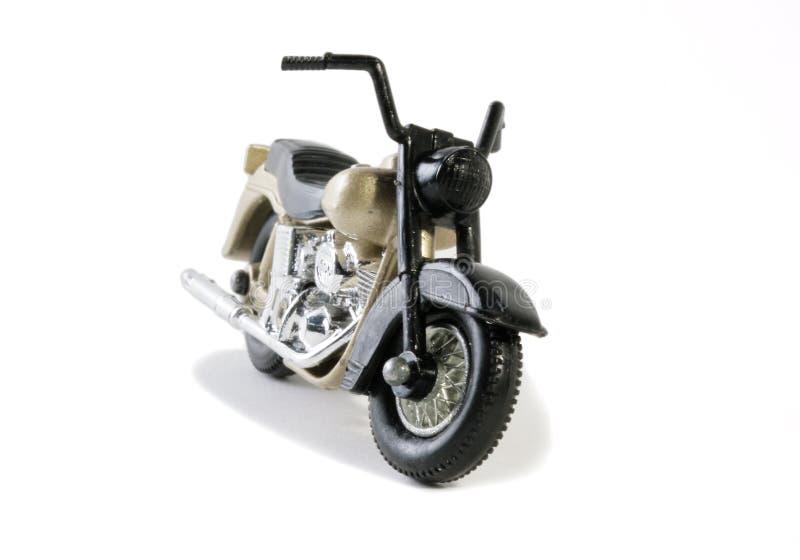 klassisk model retro seventiestoy för cykel arkivbild