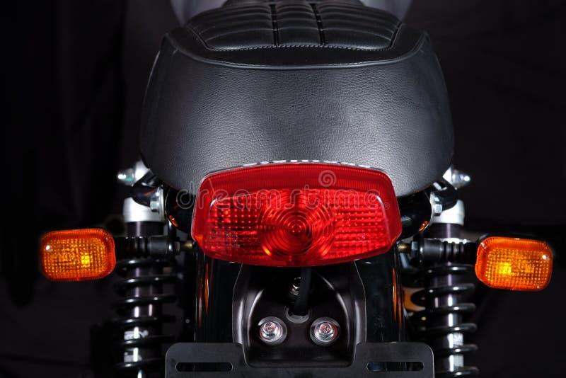 Klassisk motorcykel royaltyfri foto