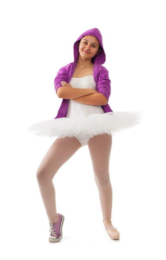 Klassisk och modern begrepp för ballerina, av balett fotografering för bildbyråer