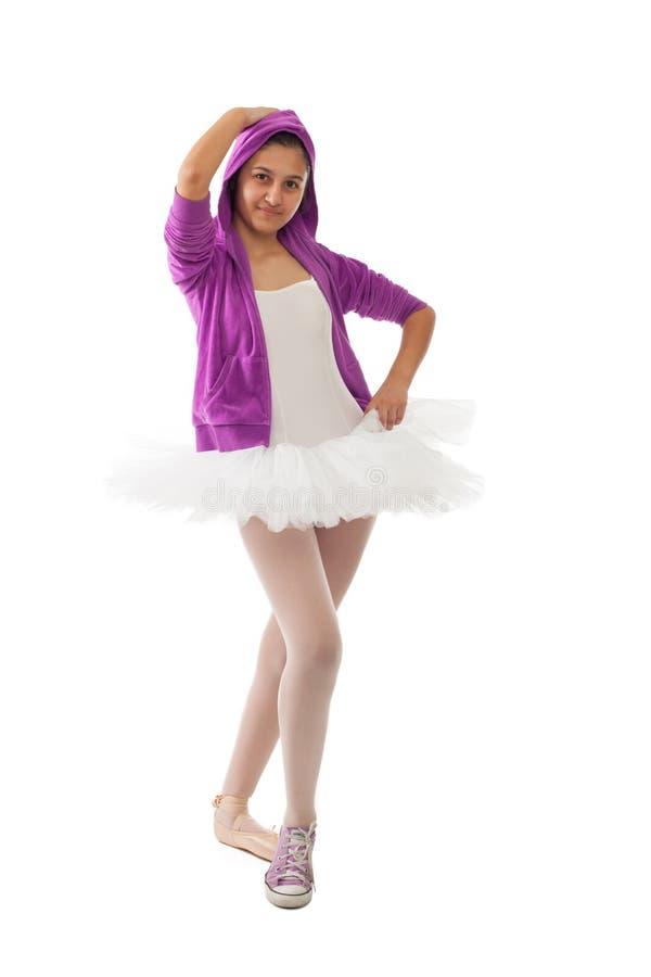 Klassisk och modern begrepp för ballerina, av balett royaltyfria bilder
