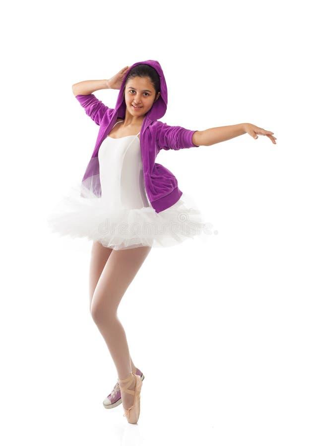 Klassisk och modern begrepp för ballerina, av balett arkivfoton