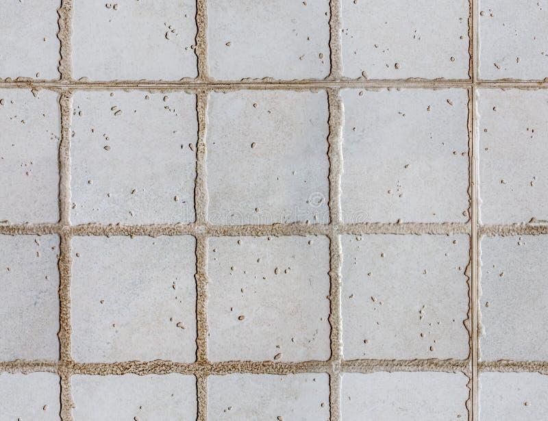 Klassisk sömlös textur för tegelplattagolv royaltyfri foto