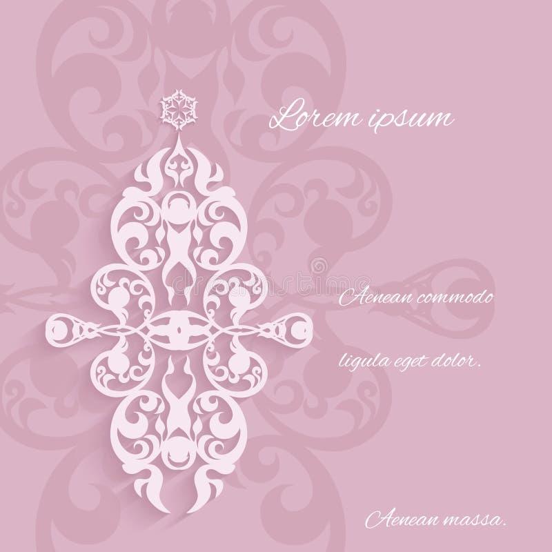 Klassisk stil för dekorativa beståndsdelar vektor illustrationer