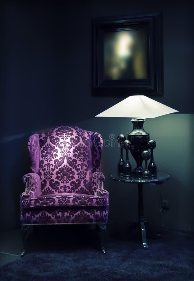 Klassisk stol fotografering för bildbyråer